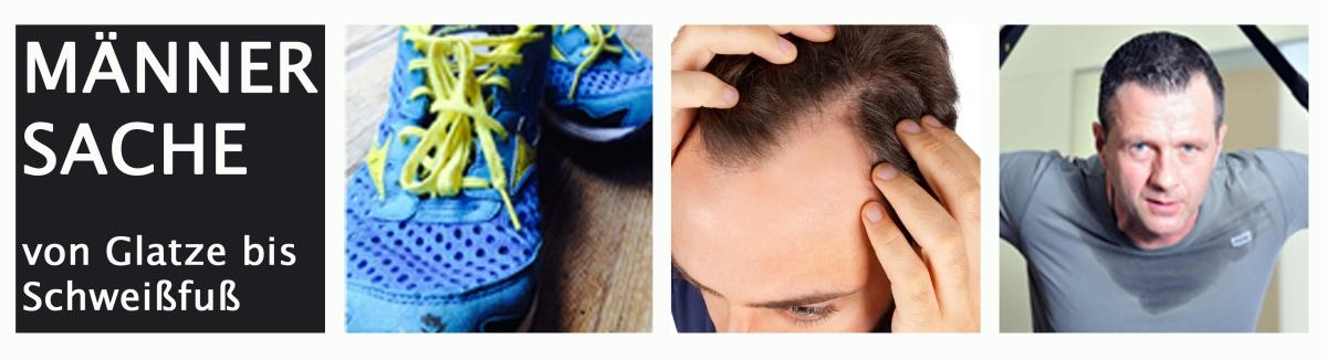 MÄNNERSACHE: Glatze, Schweißfüße undCo
