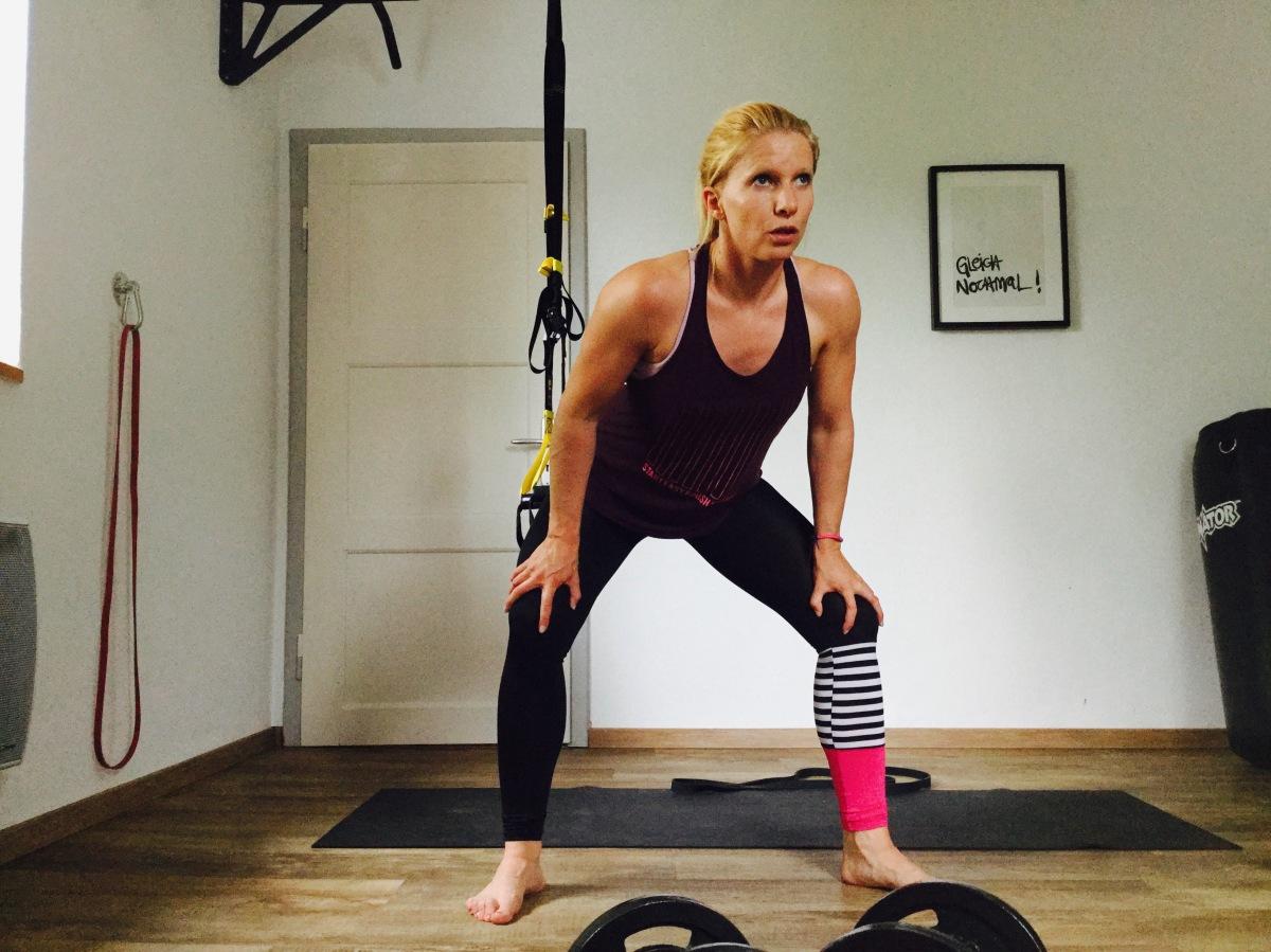 Muskelkater vorbeugen /begegnen