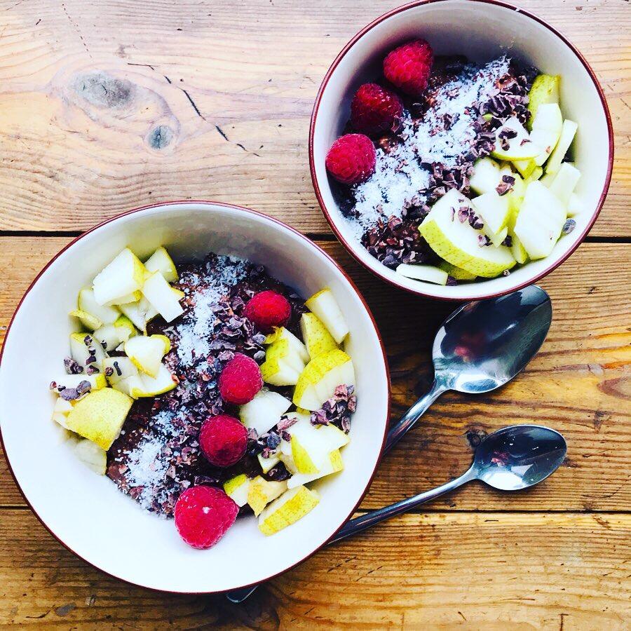 Porridge Bowl … warmesGlück